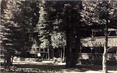 Antique Views Of Dinkey Creek